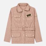 Женская стеганая куртка Barbour International Quilted Pale Pink фото- 0
