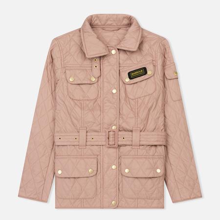 Женская стеганая куртка Barbour International Quilted Pale Pink
