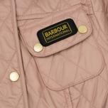 Женская стеганая куртка Barbour International Quilted Pale Pink фото- 2