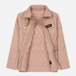 Женская стеганая куртка Barbour International Quilted Pale Pink фото- 4