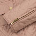 Женская стеганая куртка Barbour International Quilted Pale Pink фото- 6