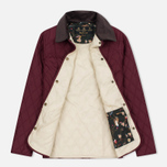 Barbour Saddleworth Women Quilted Jacket Burgundy photo- 1
