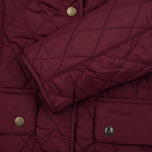 Barbour Saddleworth Women Quilted Jacket Burgundy photo- 3