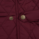 Barbour Saddleworth Women Quilted Jacket Burgundy photo- 5