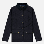 Barbour Saddleworth Quilted Women Quilted Jacket Navy photo- 0