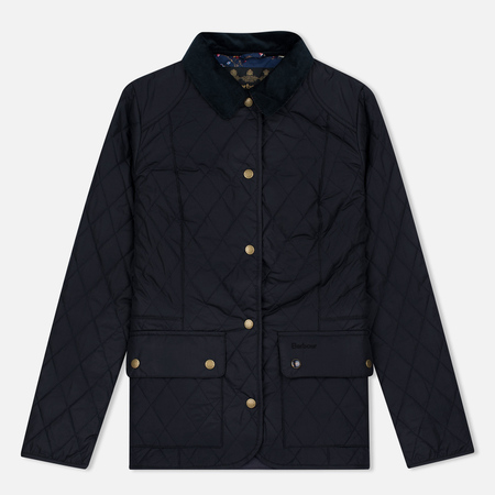 Barbour Saddleworth Quilted Women Quilted Jacket Navy