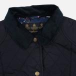 Женская стеганая куртка Barbour Saddleworth Quilted Navy фото- 2