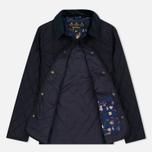 Женская стеганая куртка Barbour Saddleworth Quilted Navy фото- 1