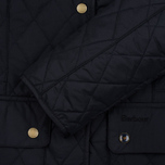 Женская стеганая куртка Barbour Saddleworth Quilted Navy фото- 3