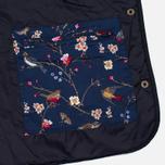 Женская стеганая куртка Barbour Saddleworth Quilted Navy фото- 4