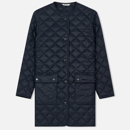 Женская стеганая куртка Barbour Skirden Quilted Navy