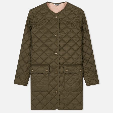 Женская стеганая куртка Barbour Skirden Quilted Olive