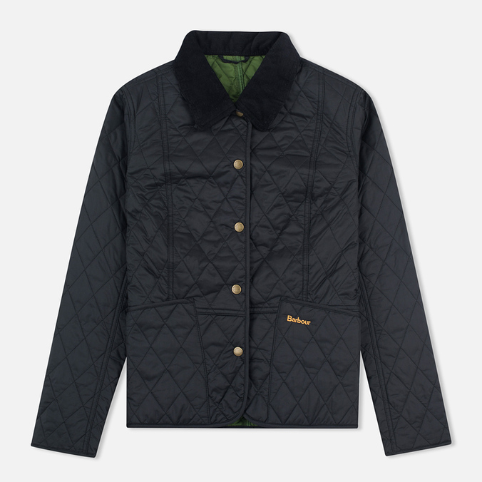 Женская стеганая куртка Barbour Summer Liddesdale Black/Turf