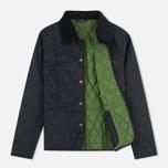 Женская стеганая куртка Barbour Summer Liddesdale Black/Turf фото- 1