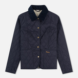 Barbour Summer Liddesdale Women's Quilted Jacket Navy/Perl photo- 0