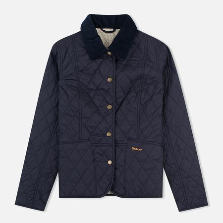 Женская стеганая куртка Barbour Summer Liddesdale Navy/Pearl