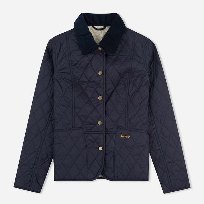 Barbour Summer Liddesdale Women's Quilted Jacket Navy/Perl