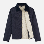 Barbour Summer Liddesdale Women's Quilted Jacket Navy/Perl photo- 1