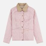 Женская стеганая куртка Barbour Summer Liddesdale Pale Mauve/Pearl фото- 0