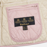 Женская стеганая куртка Barbour Summer Liddesdale Pale Mauve/Pearl фото- 5