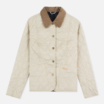 Barbour Summer Liddesdale Women's Quilted Jacket Pearl/Navy photo- 0
