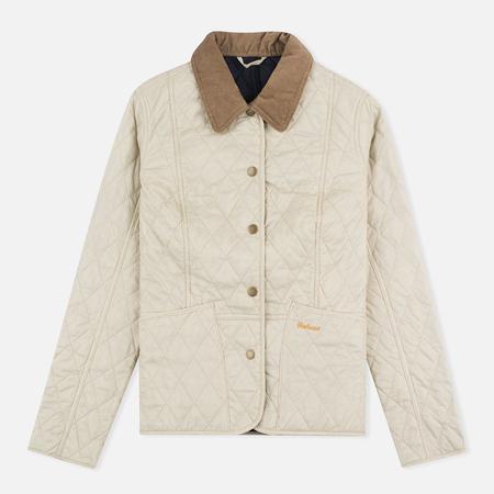 Женская стеганая куртка Barbour Summer Liddesdale Pearl/Navy