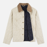 Barbour Summer Liddesdale Women's Quilted Jacket Pearl/Navy photo- 1
