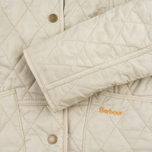 Barbour Summer Liddesdale Women's Quilted Jacket Pearl/Navy photo- 4