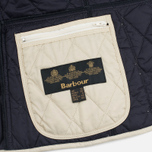 Barbour Summer Liddesdale Women's Quilted Jacket Pearl/Navy photo- 5