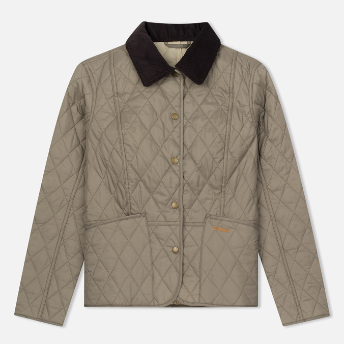 Женская стеганая куртка Barbour Summer Liddesdale Quilted Taupe
