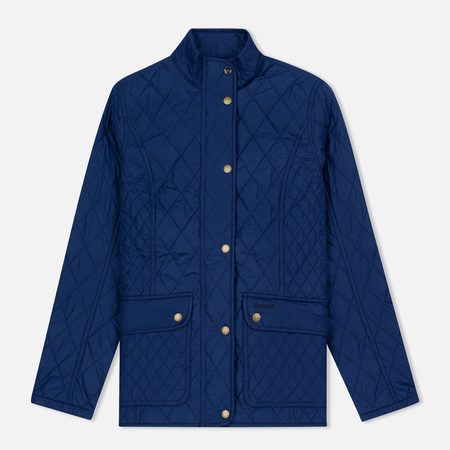 Barbour Tors Women Quilted Jacket Bright Blue