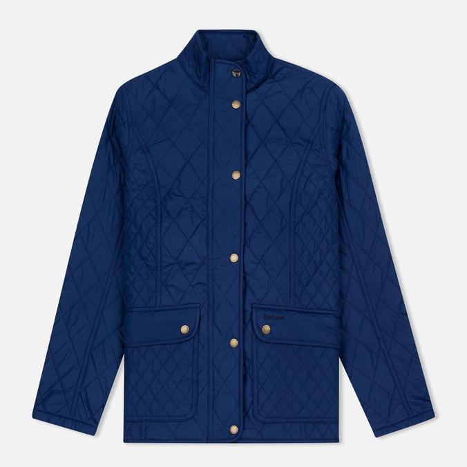 Женская стеганая куртка Barbour Tors Quilted Bright Blue