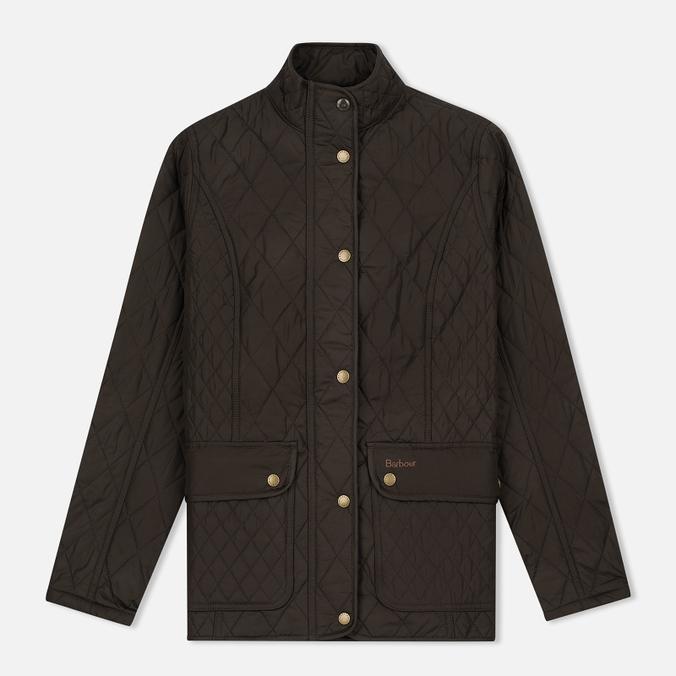 Женская стеганая куртка Barbour Tors Quilted Olive