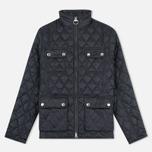 Женская стеганая куртка Barbour x Range Rover Viscon Black/Mink фото- 0