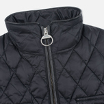Женская стеганая куртка Barbour x Range Rover Viscon Black/Mink фото- 2