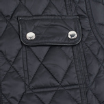 Женская стеганая куртка Barbour x Range Rover Viscon Black/Mink фото- 4