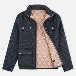 Женская стеганая куртка Barbour x Range Rover Viscon Black/Mink фото- 1