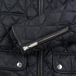 Женская стеганая куртка Barbour x Range Rover Viscon Black/Mink фото- 5