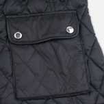 Женская стеганая куртка Barbour x Range Rover Viscon Black/Mink фото- 3