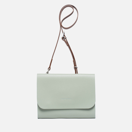 Женская сумка Ally Capellino Elizabeth Small Leather Crossbody Mint