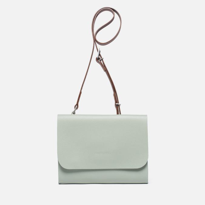 Женская сумка Ally Capellino Elizabeth Small Leather Crossbody Mint