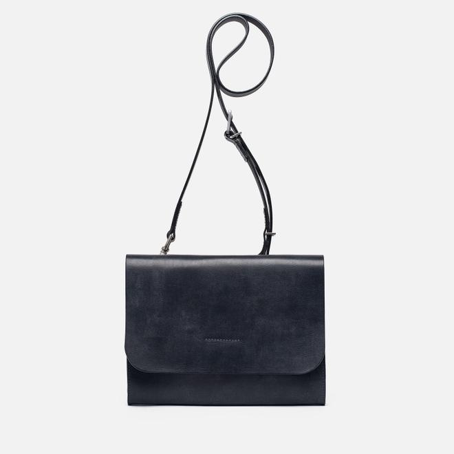 Женская сумка Ally Capellino Elizabeth Small Leather Crossbody Navy