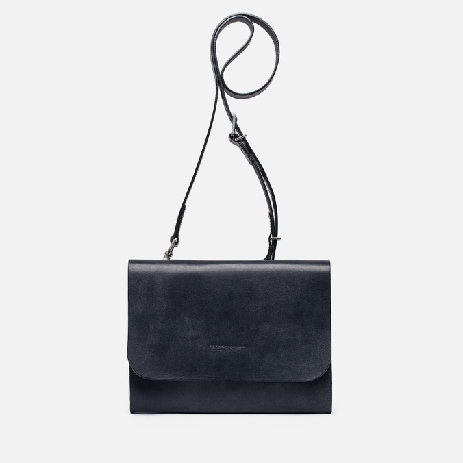 Женская сумка Ally Capellino Elizabeth Small Leather Crossbody Navy