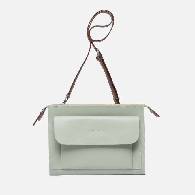 Женская сумка Ally Capellino Jackie Leather Crossbody Mint
