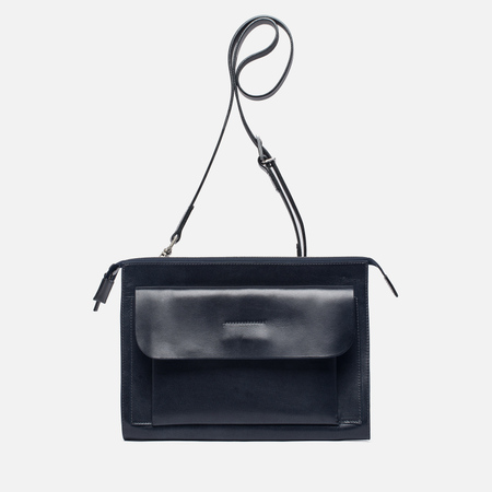 Женская сумка Ally Capellino Jackie Leather Crossbody Navy