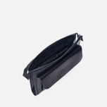 Женская сумка Ally Capellino Jackie Leather Crossbody Navy фото- 2