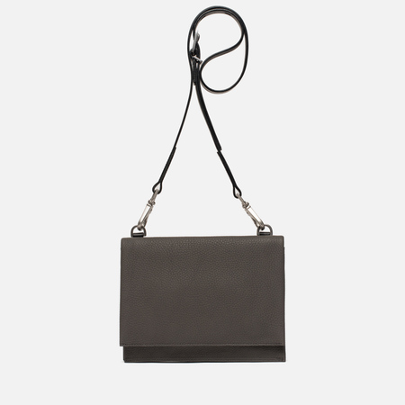 Женская сумка Ally Capellino Mini Valerie Leather Crossbody Grey