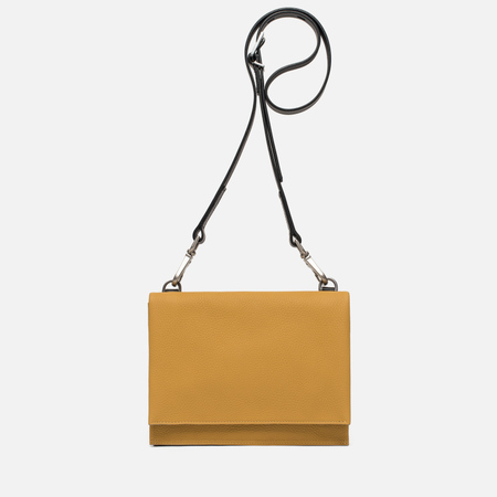 Женская сумка Ally Capellino Mini Valerie Leather Crossbody Mustard