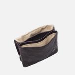Женская сумка Ally Capellino Plum Leather Mini Crossbody Chocolate Brown фото- 2