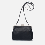 Женская сумка Ally Capellino Shirley Leather Crossbody Black фото- 0
